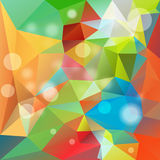 Colorful Triangle Polygonal Background Royalty Free Stock Image