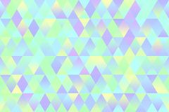 Colorful Triangle Seamless Pattern Stock Photos