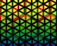 Colorful triangles background Royalty Free Stock Photography