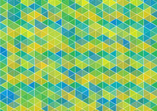 Colorful triangles background Stock Photography