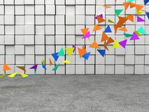 Colorful triangles Royalty Free Stock Photos