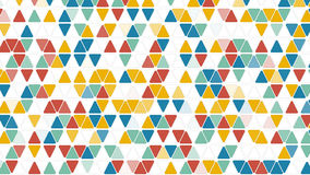 Colorful triangles geometric background Royalty Free Stock Photography