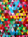 Colorful triangles and marble pattern Royalty Free Stock Images