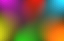 Colorful triangular abstract background Royalty Free Stock Photos