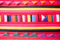 Colorful tribal fabric pattern texture background. Colorful tribal fabric pattern textue background.Colorful clothes texture background stock images