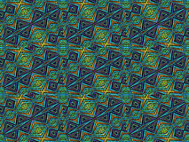 Colorful Tribal Geometric Pattern Stock Images