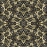 Colorful Tribal Geometric Seamless Pattern Stock Photos