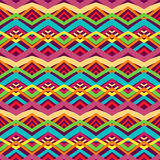 Colorful tribal pattern Royalty Free Stock Photography