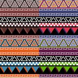 Colorful Tribal Pattern Stock Image