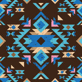 Colorful tribal seamless pattern Stock Photo