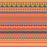 Colorful tribal vintage ethnic seamless pattern Stock Photo