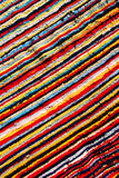 Colorful tribe  fabric Royalty Free Stock Photos