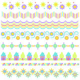 Colorful trim collection Stock Photo