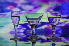 Colorful Trio Stock Photography