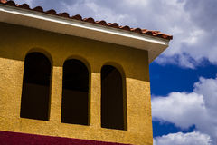 Colorful Tropical Architecture Royalty Free Stock Images