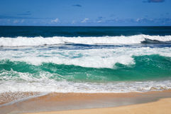 Colorful Tropical Waves Royalty Free Stock Photo