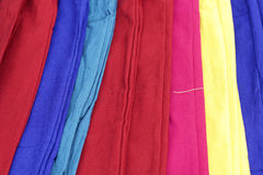 colorful trousers Stock Image