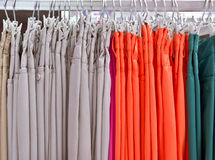 Colorful trousres Stock Photo