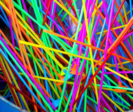 Colorful tube plastic Royalty Free Stock Photography