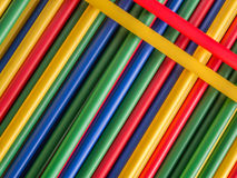 Colorful tubes royalty free stock photo