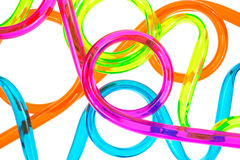 Colorful tubing Stock Photo