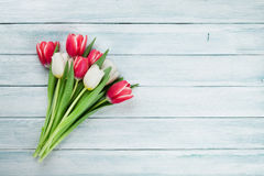 Colorful tulips bouquet Stock Photography