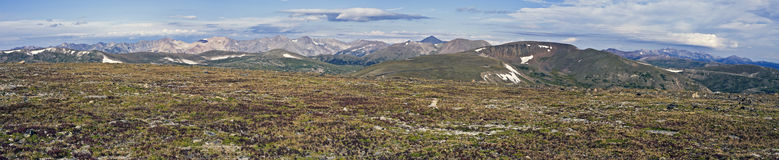 Colorful Tundra in Rocky National Park Royalty Free Stock Photography