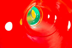 Colorful tunnel for kids Stock Photography