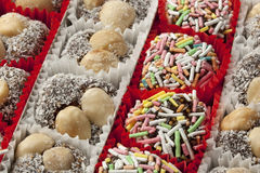 Colorful Turkish cookies Stock Image