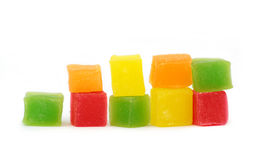 Colorful Turkish delight Royalty Free Stock Photography