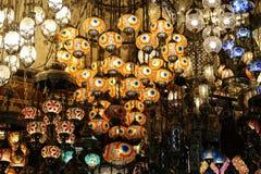 Colorful Turkish Laterns Stock Photo