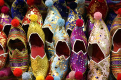 Colorful Turkish Slippers Royalty Free Stock Photography