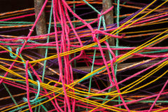 Colorful Turkish Yarn Royalty Free Stock Images