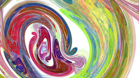 Colorful twirl abstract background. For creative design Stock Photo