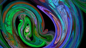 Colorful twirl abstract background Stock Photos