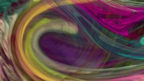 Colorful twirl abstract background loop. Colorful twirl abstract background seamless loop for motion design. Suitable for horizontal and vertical video format stock video