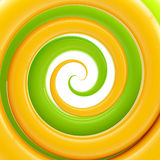 Colorful twirl as an abstract background Stock Photography