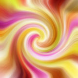 Colorful twirl background Stock Image