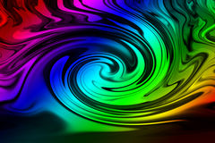 Colorful twirl background. Abstract colorful twirl background.  Digital images Royalty Free Stock Photos