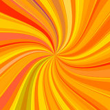 Colorful twirl stripes background Stock Photography