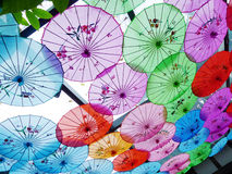 Free Colorful Umbrella Royalty Free Stock Photography - 20871877