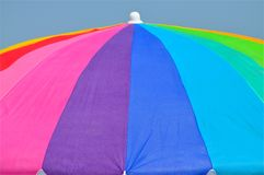 Colorful Umbrella Stock Image