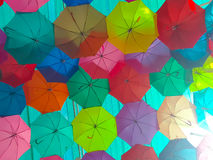 Free Colorful Umbrella. Royalty Free Stock Images - 93552649
