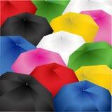 Colorful umbrella Stock Images