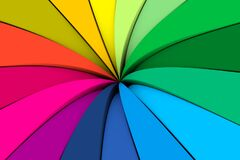 Free Colorful Umbrella Abstract Background Stock Photography - 204048392