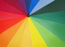 Colorful umbrella background Stock Photo