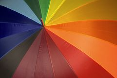 Colorful umbrella background Royalty Free Stock Image