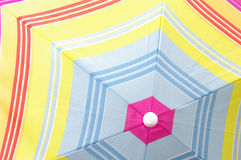 Colorful umbrella background Stock Photos