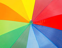 Colorful umbrella. Royalty Free Stock Photos