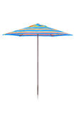 Colorful umbrella design Royalty Free Stock Image